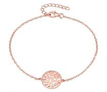 Armband Lebensbaum Sterling Silber roségold
