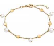 -Armband 375er Gelbgold Süßwasser One Size 87775852