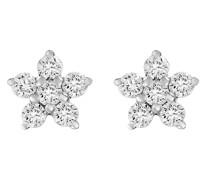 Diamonds-Ohrstecker 375er Weißgold 12 Diamant One Size 87328988