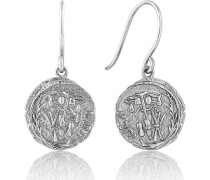 -Ohrhänger Emblem Hook earrings 925er Silber Gold Gold 32014227