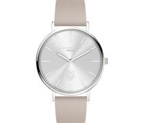 -Uhren Analog Quarz Roségold Leder 32014843