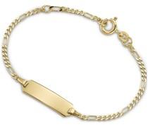 Unisex-I.D.-Armband 333er Gelbgold One Size 75799004