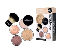 1 Stück  Medium Glowing Complexion Essentials Kit Make-up Set