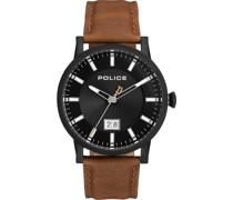 -Uhren Analog One Size Leder 87669459