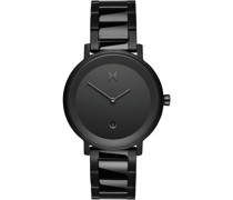 -Uhren Analog Quarz Schwarz 32010210