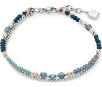 -Armband Natalina Edelstahl/Glas One Size 87937739