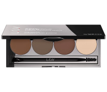 4 g Nr. 310 - Brunette Attitude Browttitute Eyebrow Contouring Palette Make-up Set