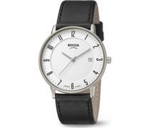 Boccia-Uhren Analog Quarz Anthrazit 32013708