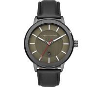 -Uhren Analog Quarz One Size Leder 32010703