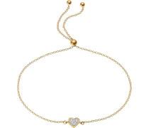 -Armband 375er Gelbgold 3 Diamant One Size 87381544