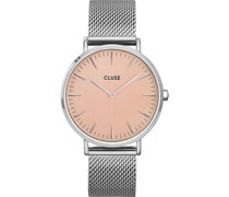 -Uhren Analog Quarz Silber 32014927