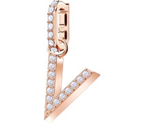 -Charm Metall Kristalle One Size 87542394