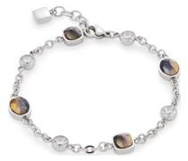-Armband Edelstahl 4 Glasstein One Size 88138805