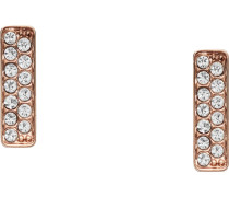 -Ohrstecker Edelstahl 26 Glasstein One Size 87592596