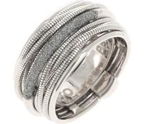 -Damenring 925er Silber rhodiniert M 32004563