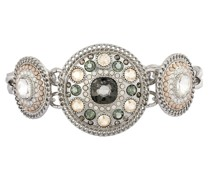 Armband Metall Glassteine silber