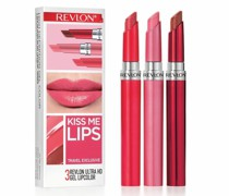 Lippenstifte Gel 3er Set ULTRA HD KISS ME