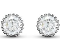 -Ohrstecker 925er Silber 2 Zirkonia One Size 87957179