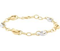 -Armband 585er Gelbgold, Weißgold One Size 86396955