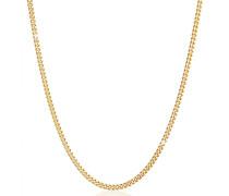 Halskette Basic Männer Panzerkette Massiv Robust 925 Silber