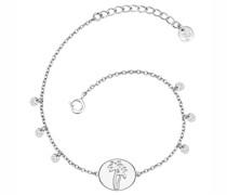 Armband Palme Sterling Silber silber Silberarmband