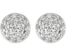 Silver-Ohrstecker 925er Silber 36 Zirkonia One Size 86736276