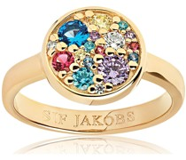 -Ring 925er Silber Farbstein 52 32005984