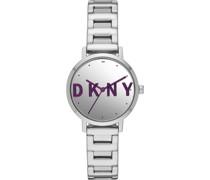 -Uhren Analog Quarz One Size Edelstahl 32010737