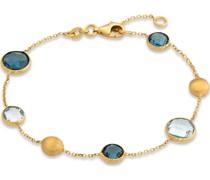 -Armband 375er Gelbgold 3 Topas One Size 87555178