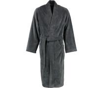 Bademantel Kimono 800 anthrazit - 77
