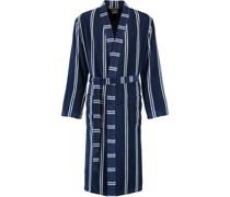 Bademantel Kimono Streifen 1840 navy - 16