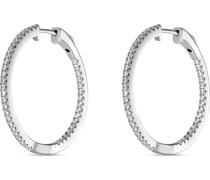 -Creolen 925er Silber 86 Zirkonia One Size 87165604