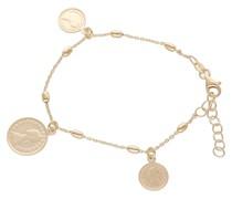Armband mit Münzen, Silber 925