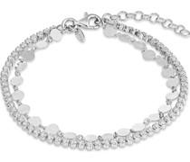 -Armband 925er Silber rhodiniert 60 Zirkonia One Size 87776662