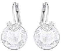-Ohrhänger Metall/Kristall Kristalle One Size 87324851