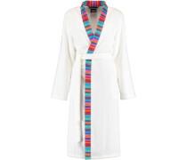 Bademantel Kimono Art 1230 weiß-multicolor - 600