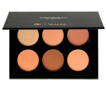 1 Stück  Medium to Tan Powder Contour Kit Make-up Set