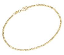 Armband mit facettierten Kugeln, Gold 585