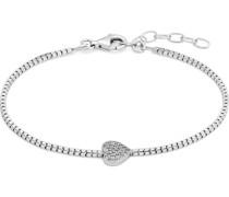 -Armband 925er Silber rhodiniert Zirkonia One Size 87711226