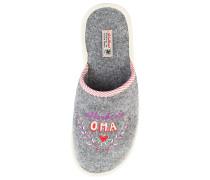 Größe: 36-37 Filzpantoffeln Allerbeste Oma - in verschiedenen Größen Schuhe