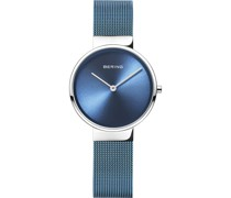 -Uhren Analog Quarz Silber 32017007