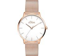 -Uhren Analog Quarz One Size Edelstahl 87403327
