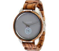-Uhren Analog Quarz Sandelholz Holz 32015170