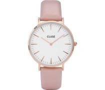 -Uhren Analog Quarz Roségold 32012806
