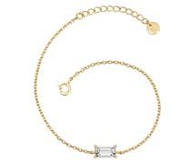 Armband Sterling Silber Zirkonia gelbgold Silberarmband