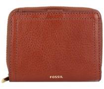 Logan Geldbörse RFID Leder 11 cm Portemonnaies Braun
