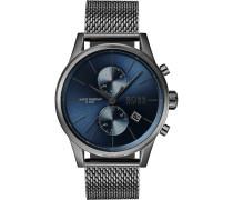 Boss-Uhren Analog Quarz One Size Edelstahl 87644481