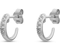 Diamonds-Ohrstecker 375er Weißgold 14 Diamant One Size 87729401