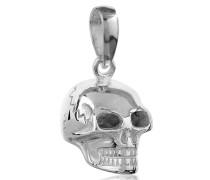 Anhänger Totenkopf Kettenanhänger Gothic 925 Silber