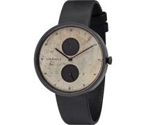 Unisex-Uhren Analog Quarz One Size Leder 87497704